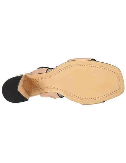 женские бежевые кожаные Босоножки Bruno Premi 0802P_beige - фото-5