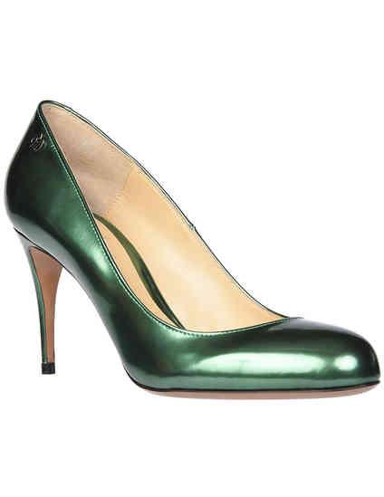 женские зеленые Туфли Nando Muzi NM1113_green - фото-2