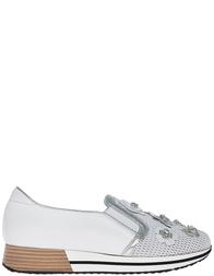 Женские слипоны Marzetti 7266silver_white