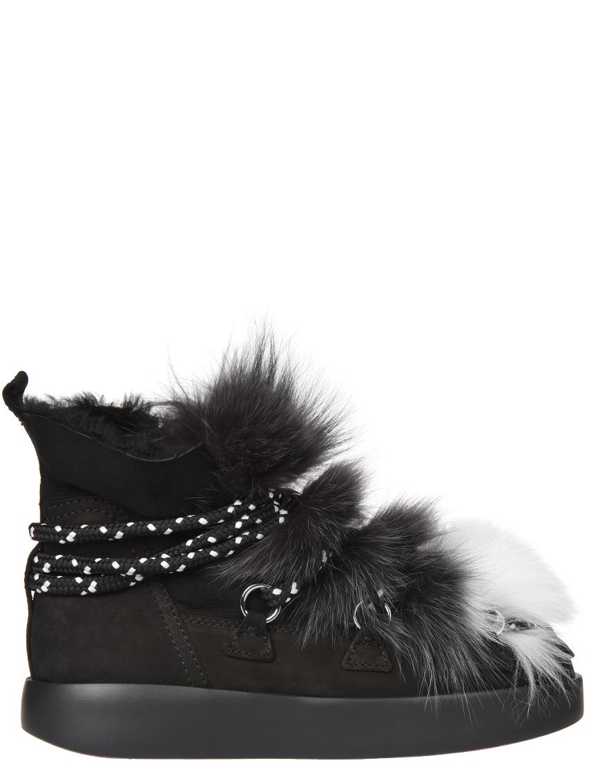 Женские ботинки My Grey 025-NB-fox_black