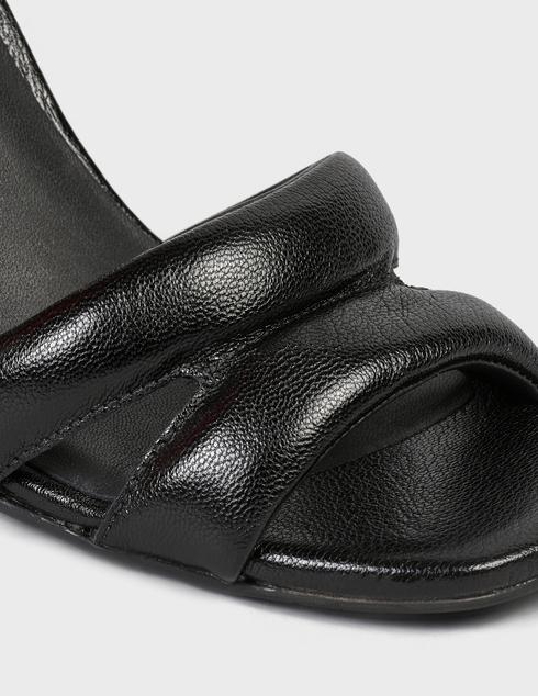 женские черные кожаные Босоножки What For SS21WF077 - фото-5