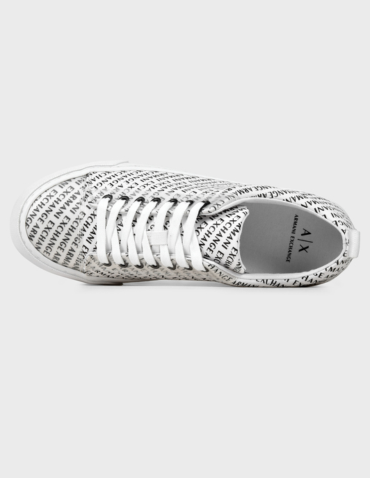 белые Кеды Armani Exchange XUX053-XV206-00152-white размер - 40; 41; 42; 43; 44; 45