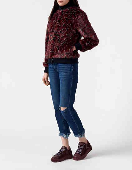 Trussardi Jeans NERO-BORDO фото-4