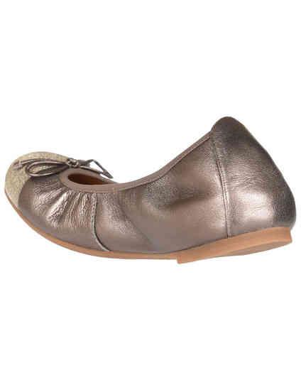 коричневые женские Балетки Unisa AUTO_18_LMTPALADIUM_brown 3600 грн