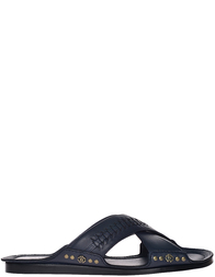 Мужские шлепанцы Roberto Cavalli 2086_blue