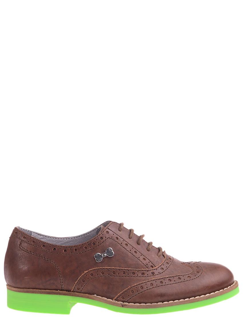 Детские туфли для мальчиков FRANKIE MORELLO L5005marrone_brown