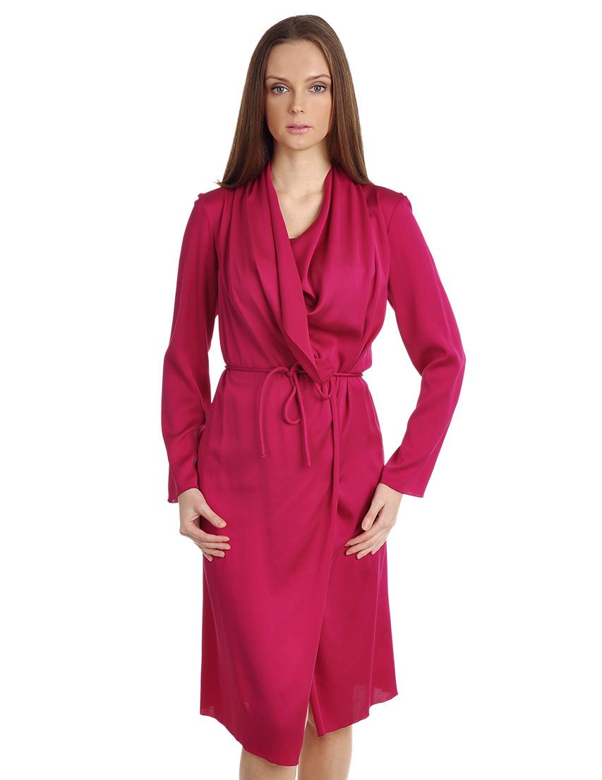 Купить Платье, LANVIN, Розовый, 95%Шелк 5%Эластан, Осень-Зима