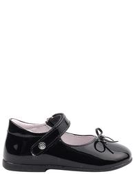 Детские туфли для девочек NATURINO 4524-black