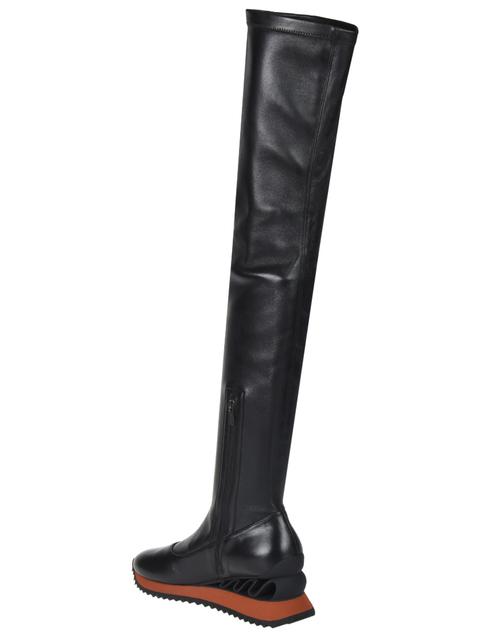 женские черные Ботфорты Le Silla 6589_black - фото-2