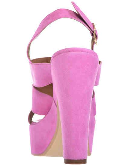 женские фиолетовые Босоножки Esther Collezioni Cris036_pink - фото-2