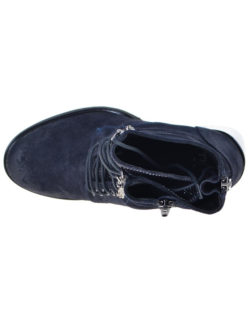 Фото 5 - женские ботинки и полуботинки  синего цвета