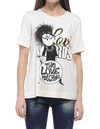Женская футболка LOVE MOSCHINO 4F0402E1627A01
