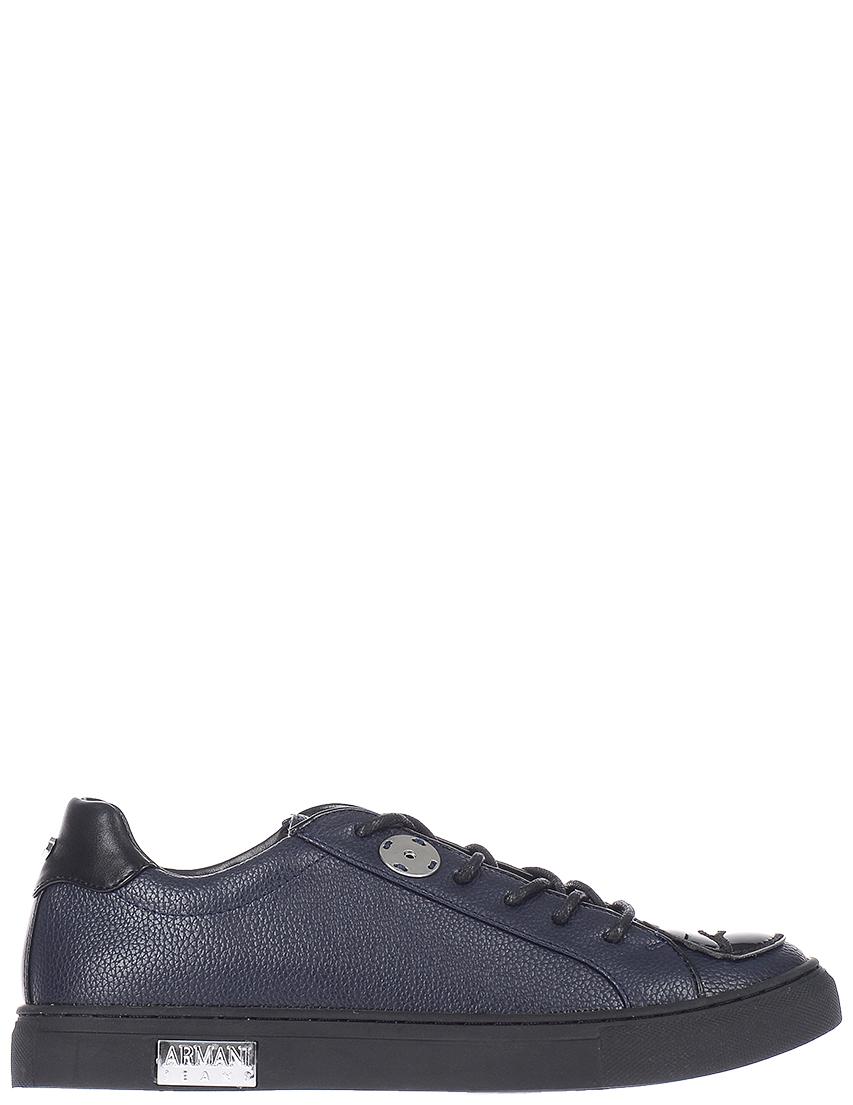Женские кеды Armani Jeans 5256-blunotte_blue