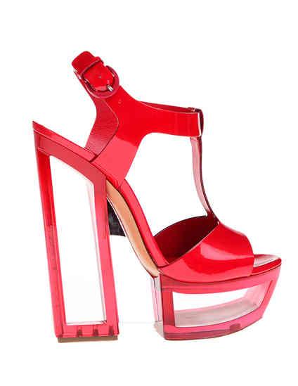 красные женские Босоножки Casadei 3088_red 8491 грн