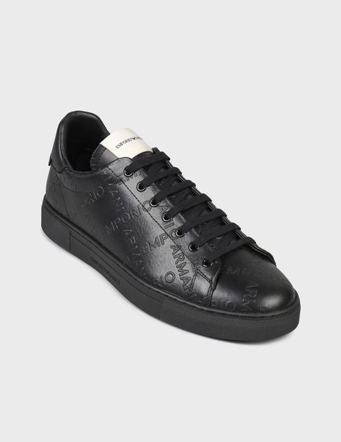 черные Кеды Emporio Armani X4X554XM994-K001