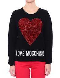 Женский джемпер LOVE MOSCHINO S89G01X0683-C74_black
