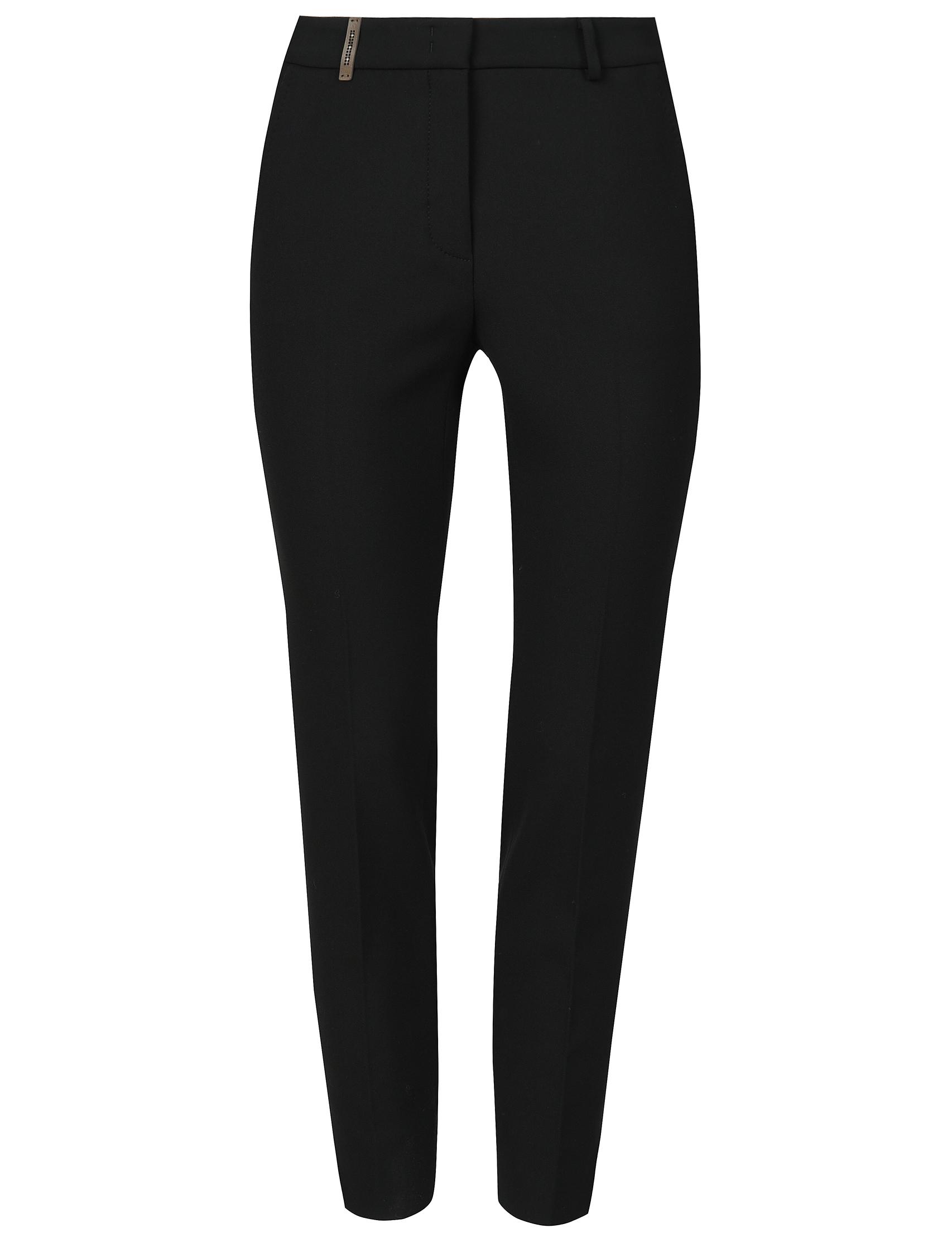 Женские брюки PESERICO 04718_black