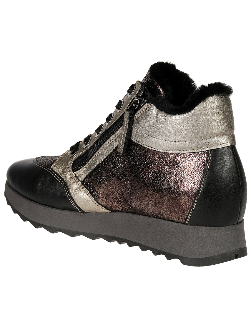 Кожаные цветные кроссовки TINE'S (ITALY)