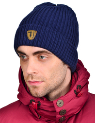 Мужская шапка TRUSSARDI JEANS 25_blue