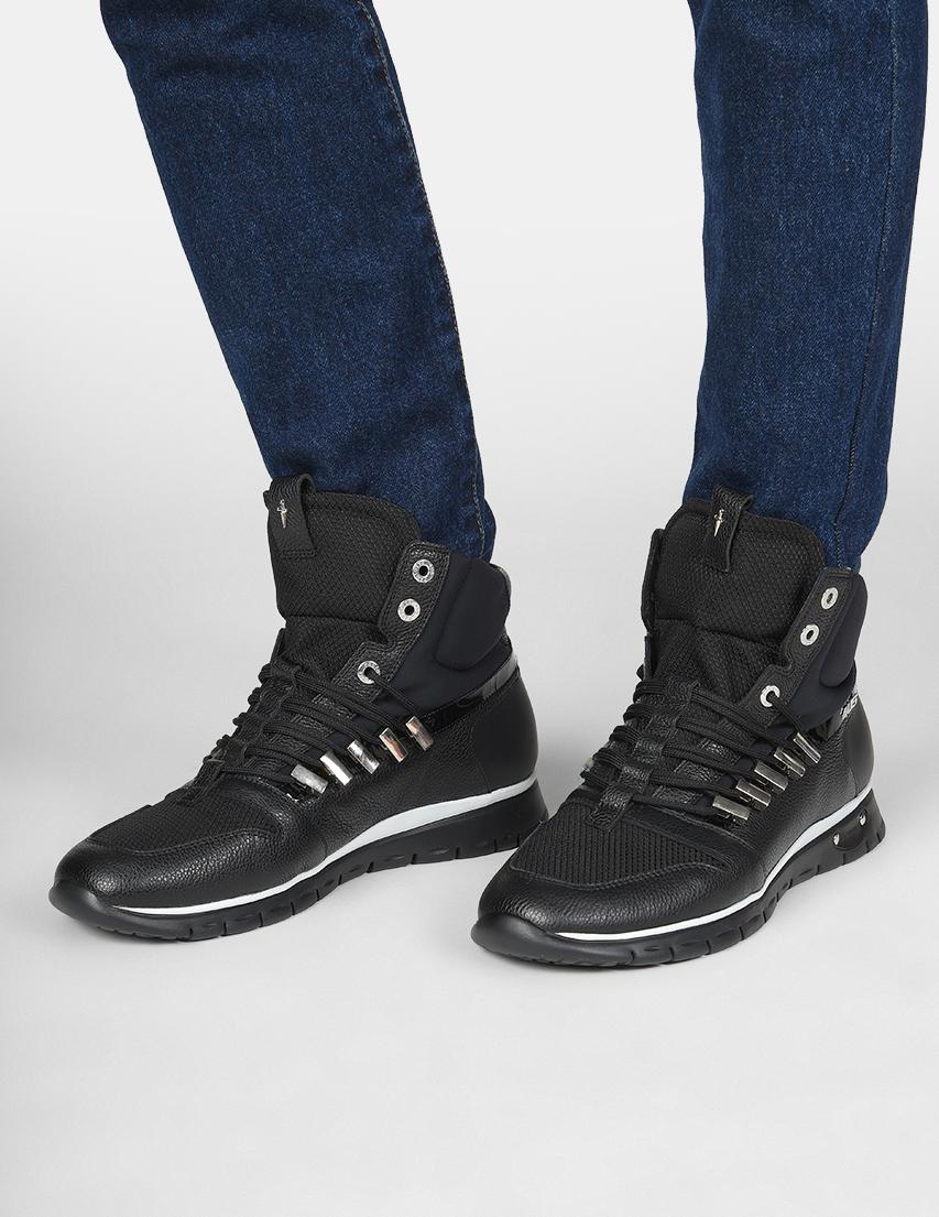 Мужские кроссовки 4US Cesare Paciotti 688_black