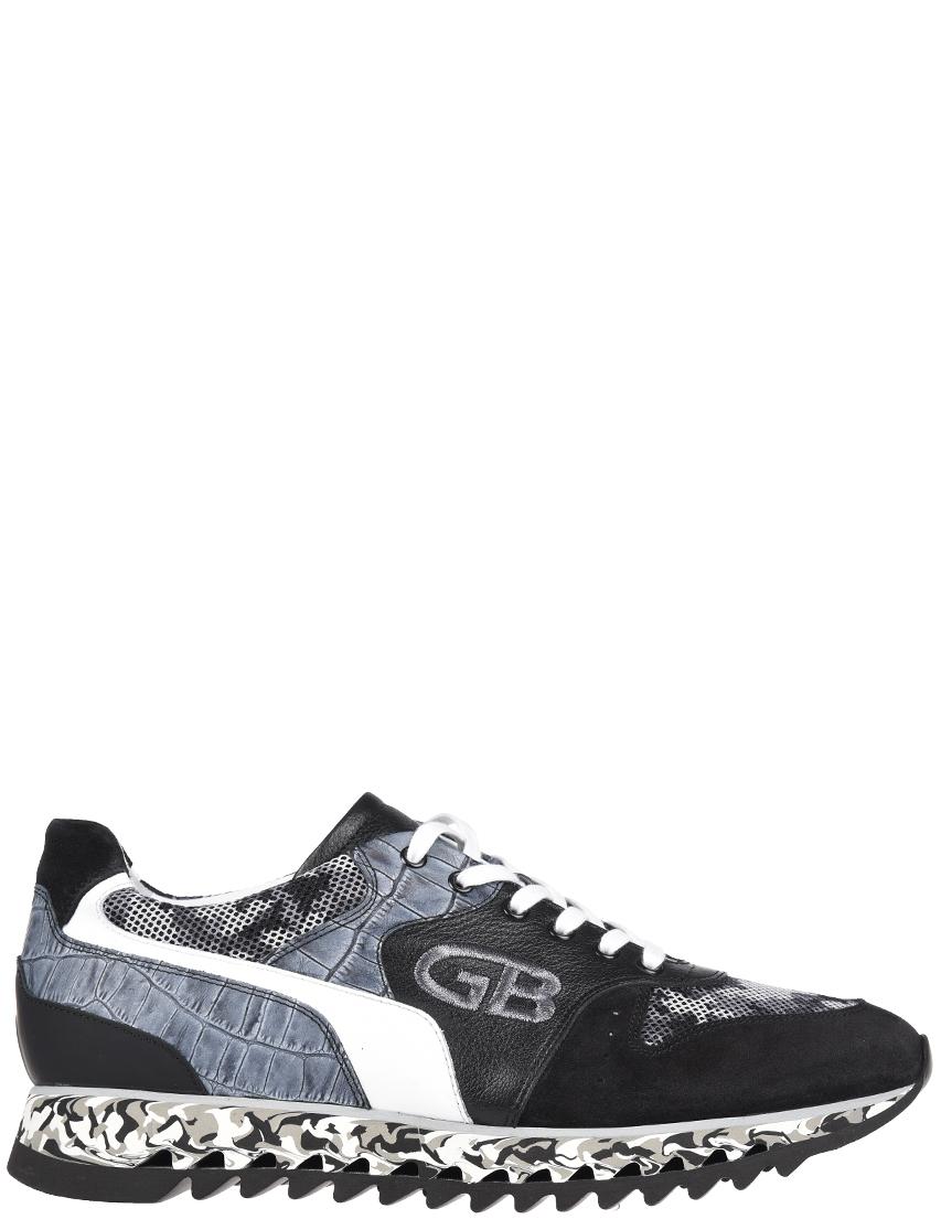 Мужские кроссовки Gianfranco Butteri 93528_black