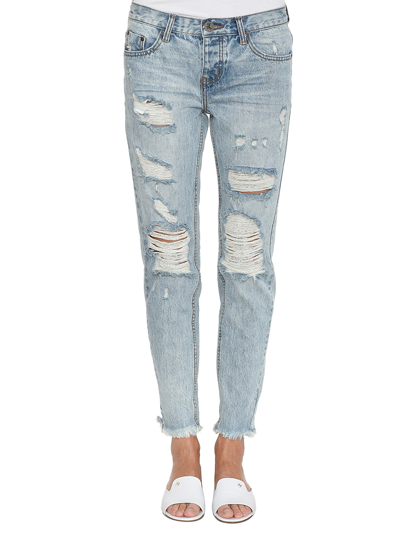 Женские джинсы ONETEASPOON AGR-19437B-ONE_blue