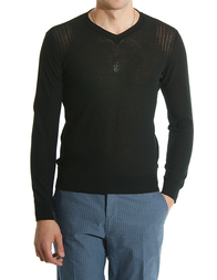 Мужской пуловер CLASS ROBERTO CAVALLI C-11black