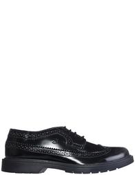 Детские туфли для мальчиков Naturino 4003-nero-brush-black