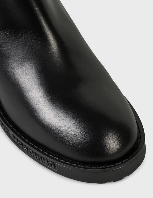 женские черные кожаные Ботильоны Love Moschino JA21197G0DIA0000 - фото-5