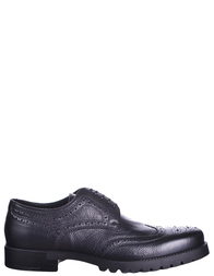 Мужские броги GIANFRANCO BUTTERI 63201-black