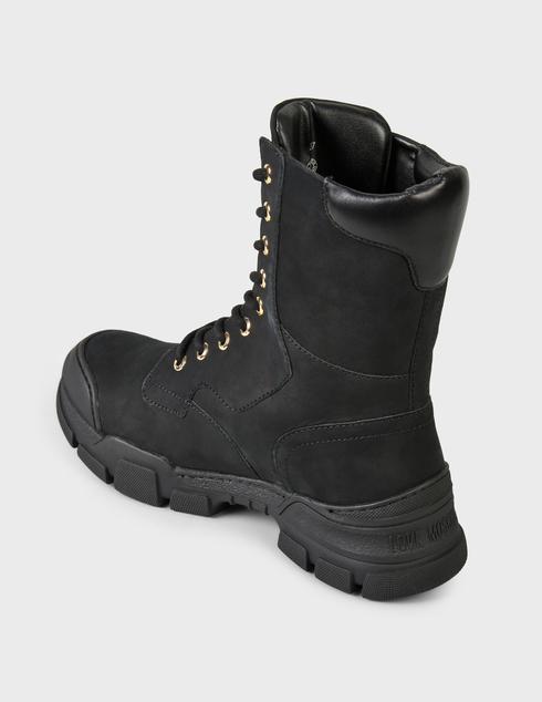 женские черные Ботинки Love Moschino JA15654G0DIU0000 - фото-2