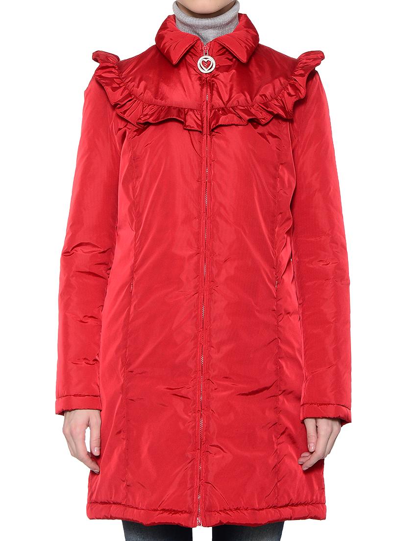 Купить Куртка, LOVE MOSCHINO, Красный, 100%Полиэстер;100%Нейлон, Осень-Зима