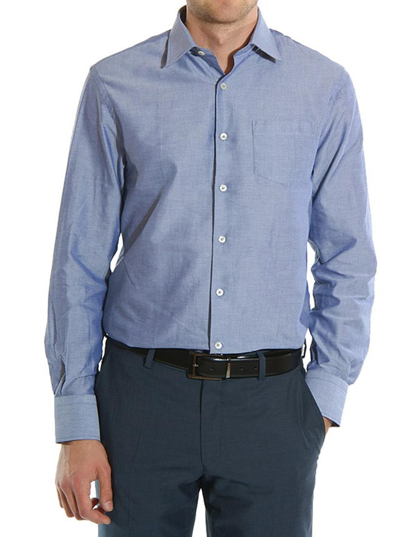 Рубашка, GF FERRE, Фиолетовый, 100%Хлопок, Осень-Зима  - купить со скидкой