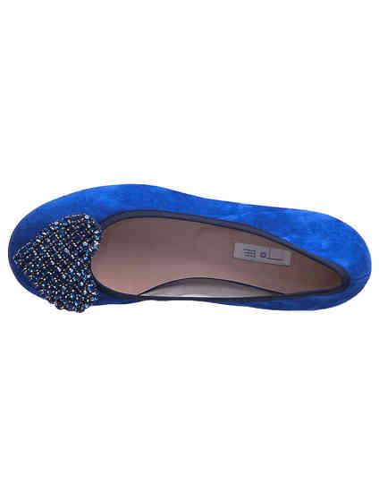 женские синие Балетки To Be Kuki_blue - фото-7