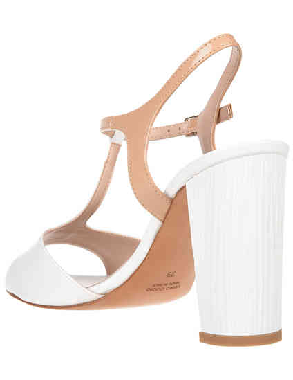 белые женские Босоножки Albano 929_white 3054 грн