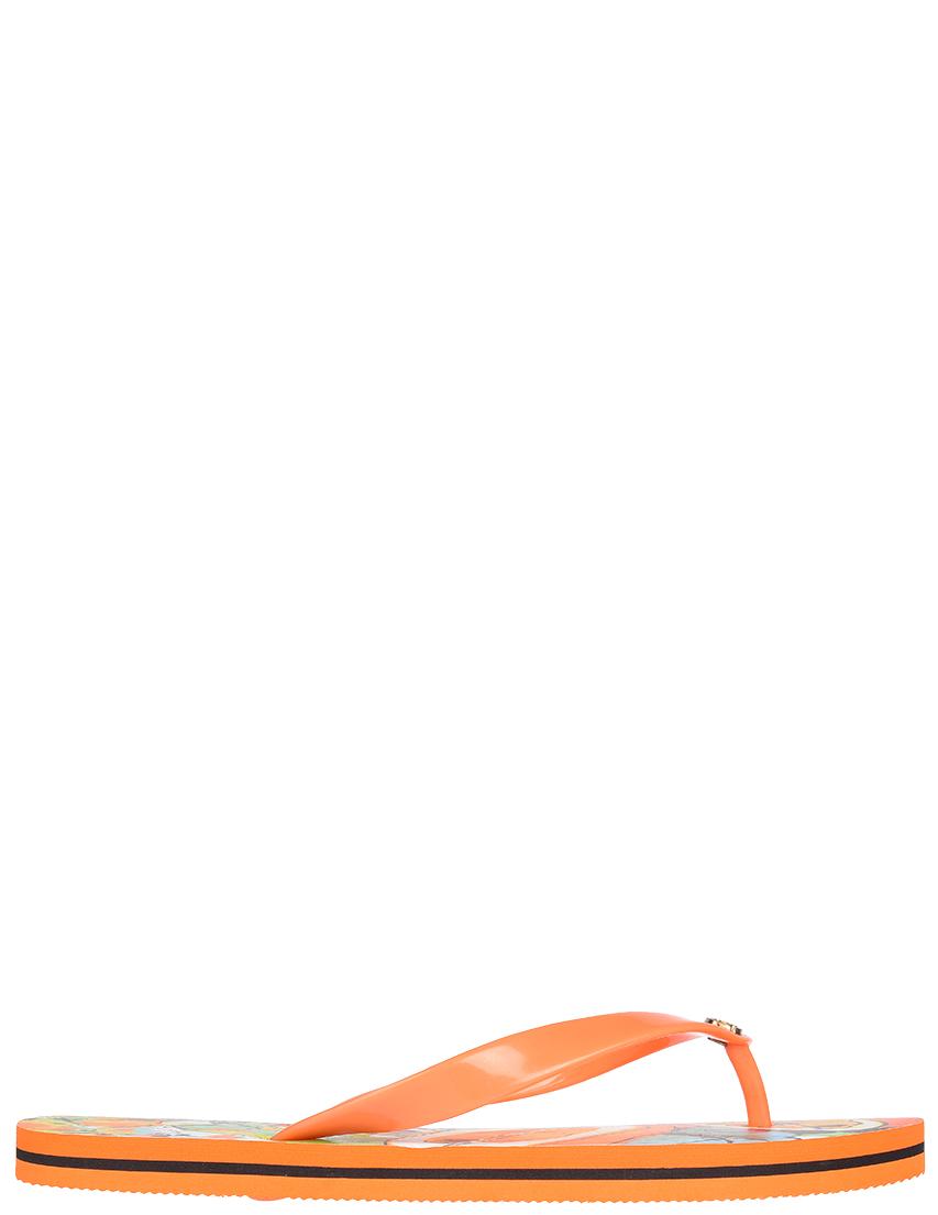 Купить Пантолеты, JUST CAVALLI, Оранжевый, Весна-Лето