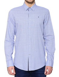 Мужская рубашка TRUSSARDI JEANS 52C000279Y099999U040_blue