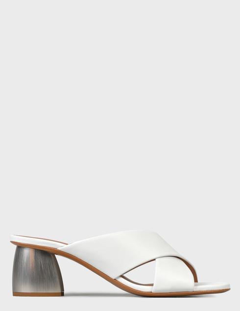 женские белые Шлепанцы Emporio Armani X3P759XF271-00001 - фото-6