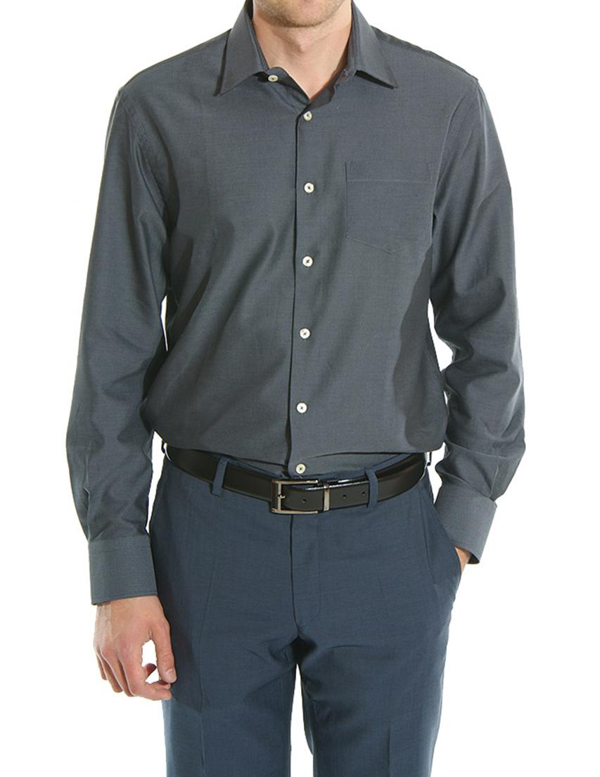 Купить Рубашки, Рубашка, GF FERRE, Серый, 100%Хлопок, Осень-Зима