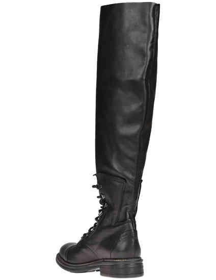 черные женские Ботфорты Now 3967_black 5249 грн