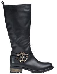 Женские сапоги ROBERTO CAVALLI 44930-М_black