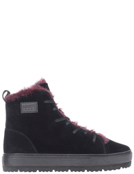 Женские ботинки Armani Jeans AGR-5300-LЗ-bordo_black