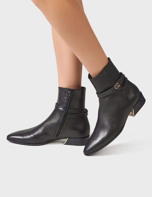 черные Ботинки Furla YD28FGC