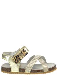 Детские сандалии для девочек ROBERTO CAVALLI CN41246_gold