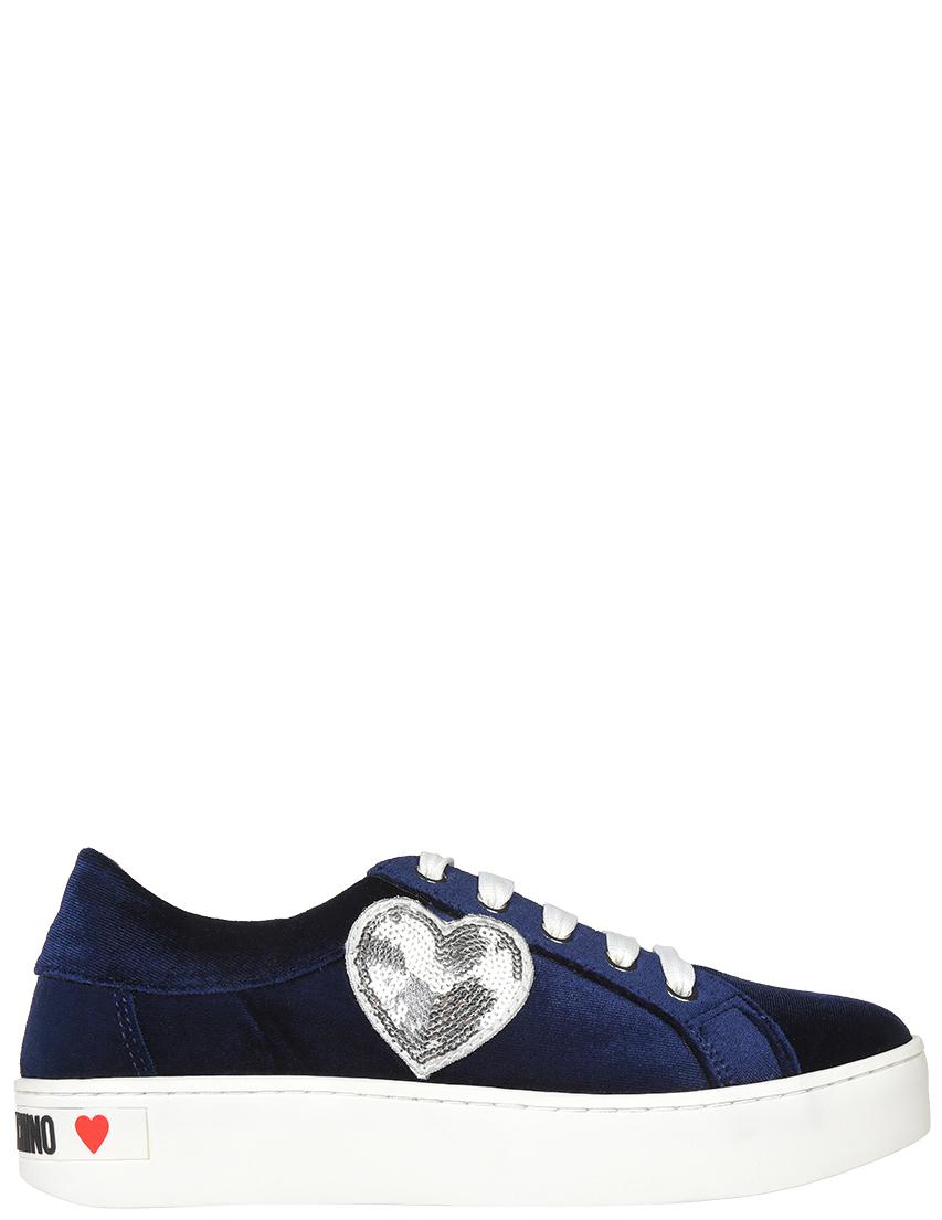 Женские кеды Love Moschino 15303-VL-blu_blue