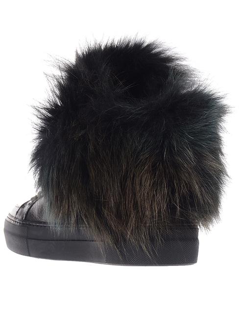 женские черные Ботинки Iceberg ID1097A - фото-2