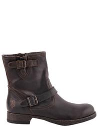 Женские ботинки U.S.POLO ASSN. 4306-brown