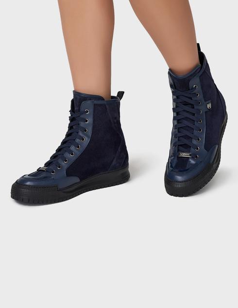 синие Ботинки Baldinini D2BS03VIVC1515