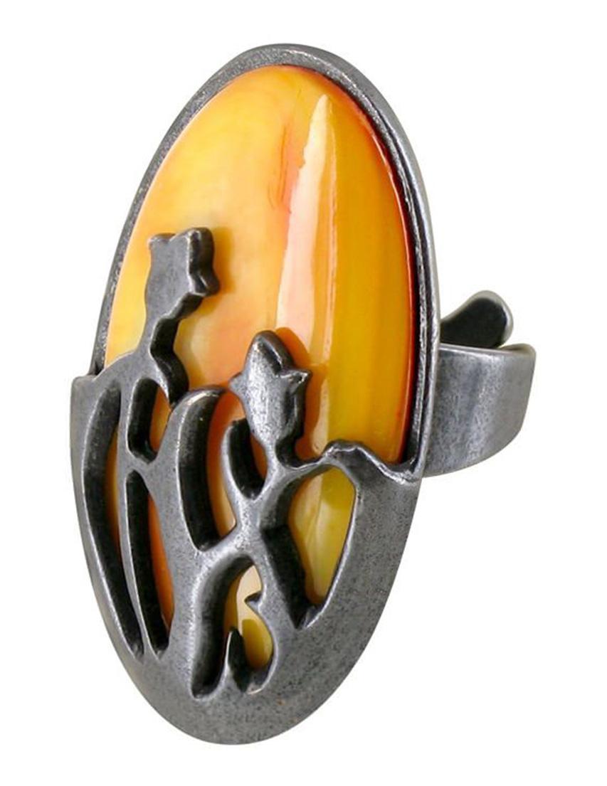 Купить Кольца, Кольцо, NATURE BIJOUX, Оранжевый, Осень-Зима