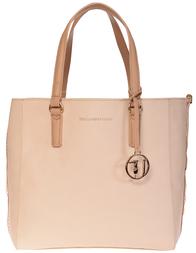 Женская сумка Trussardi Jeans 75650_beige